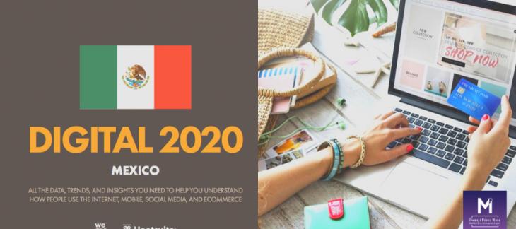 Estadísticas internet México 2020